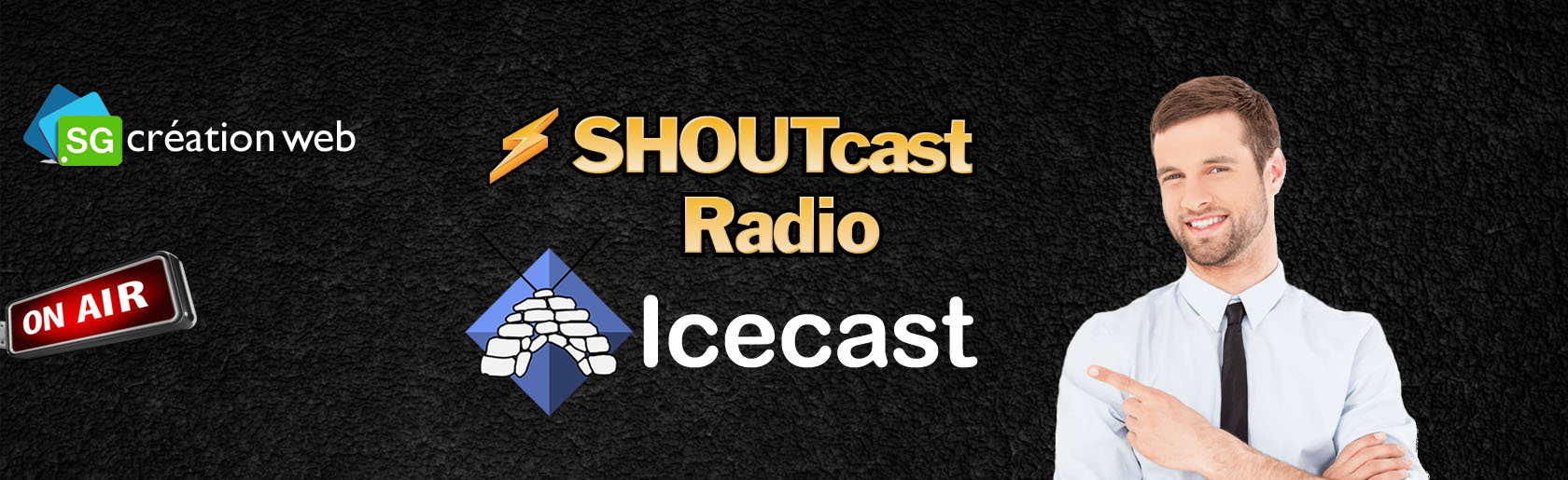 Location de Serveur Shoutcast